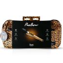 Panthra - Shaka Stabvibrator + Bauchtasche Leoparden Design