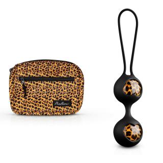 Panthra - Zane Liebeskugeln + Bauchtasche Leoparden Design