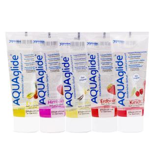 AQUAglide - Gleitgel mit Geschmack 100ml
