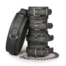 Easytoys - 4er Manschetten + Halsband
